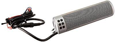 Kuryakyn 2714 Road Thunder Sound Bar by MTX for Motorcycle, Silver, 1