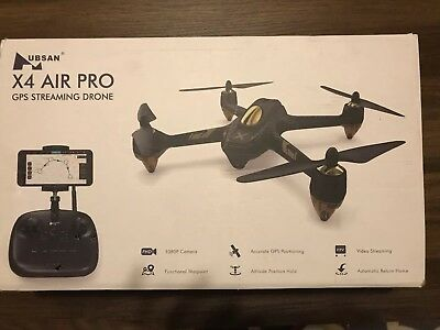 READ DESCRIPTION. Hubsan H501A X4 Brushless Drone Quadcopter 1080P Waypoint GPS