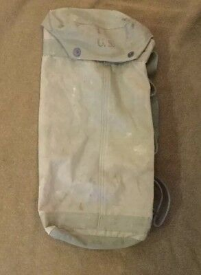 WW2 US Military Army M6 Bazooka Rocket Launcher Paratrooper Canvas Bag Victory
