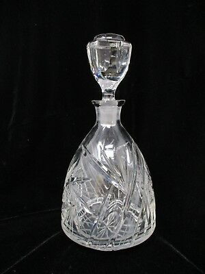 """Waterford Crystal 9 1/4"""" Decanter w/ Stopper"""