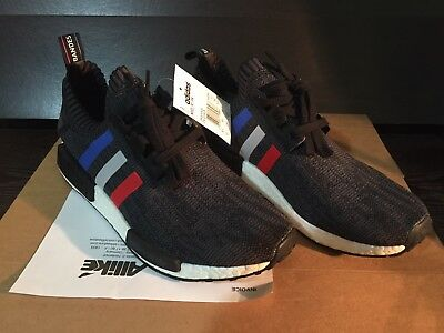 buy popular f3b47 899b2 ADIDAS NMD R1 PK Tri Color Black BB2887 10
