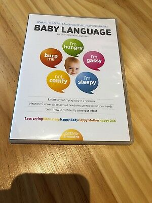 Dunstan Baby Language DVD. Baby Language. Double Sided DVD