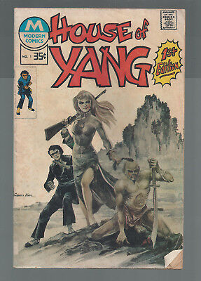 M, Modern Issue, House of Yang #1, first Issue, Bronze Age, 1975 used