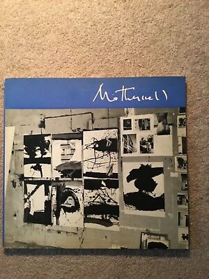 Robert Motherwell - Museum Of Modern Art 1965 Softcover Book By Frank O'hara