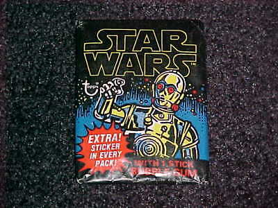 Excellent Condition! 1977 Topps Star Wars Series 1 Unopened Wax Pack