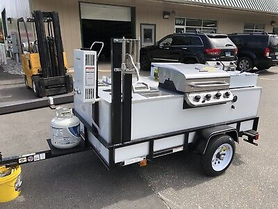 food cart, hot dog cart, sandwich cart, Food Trailer
