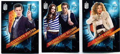 Doctor Who No # Promo Card Set (11, Amy & Rory, River Song)