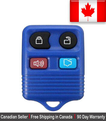 1 New Replacement Keyless Entry Blue Remote Control Key Fob Ford Lincoln Mercury