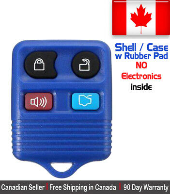 1 New Replacement Keyless Entry Blue Remote Control Key Fob Ford Shell / Case