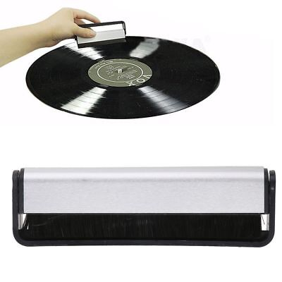 Antistatic Carbon Fiber Vinyl Record Dust Cleaner Brush Turntable Cleaning HOT