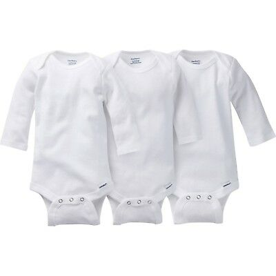 Pack of 2 Bodysuits & One-Piece Suits Gerber Childrenswear White Long Sleeve Onesies®