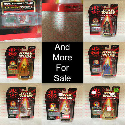 Star Wars Episode I Collection 3 CommTech Chip Hasbro 1996-2010 OBO