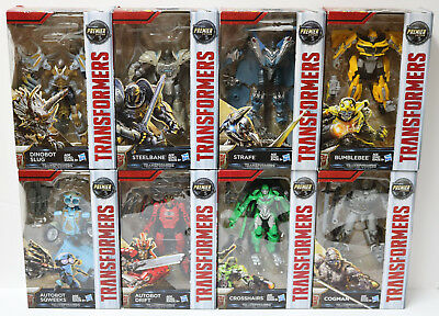 Transformers: The Last Knight Premier Edition Deluxe 9 Action Figures To Choose