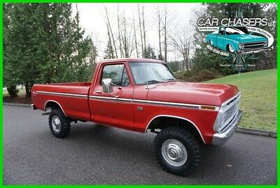 1975 Ford F-250 ORIGINAL PATINA PAINT SOLID SURVIVOR HIGH BOY 4X4! 150PIX+VIDEO 150PIX+VIDEO ON THIS WELL PRESERVED & UNMOLESTED CLASSIC HIGHBOY! F350 F150 F100