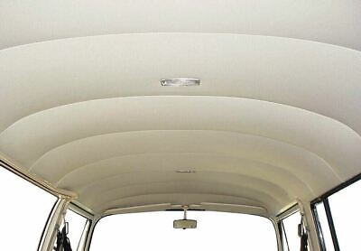 TMI Interiors Perforated Vinyl Headliner Off White For VW T2 Bay 1967–1971