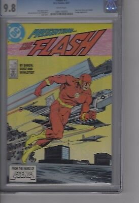 Flash #1 1987 - DC -CGC 9.8 White Pages