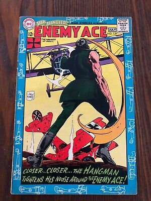 Star Spangled War Stories #139 DC 1968 ORIGIN of Enemy Ace! Free Shipping