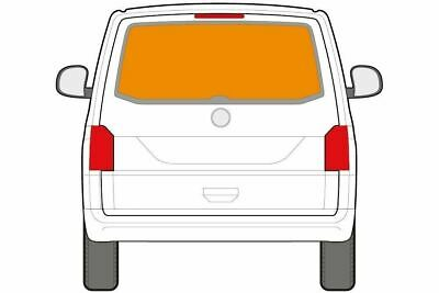 . Just Kampers Tailgate Thermal Thermo Blind Silver Screen For  VW T6 Transporte