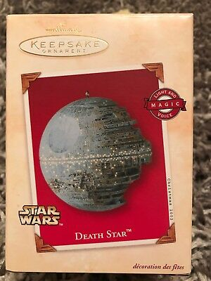 Star Wars Death Star 2002 NIB Hallmark Keepsake Ornament