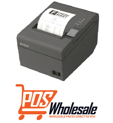 Epson TM-T82II SERIAL/USB Thermal POS Printer