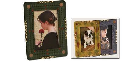LEATHER PHOTO FRAME 4in x 6in (4462-00) [WBL]