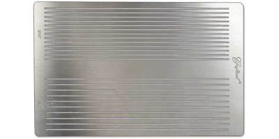 Stainless Steel Fringe Cutting Template (3604-50) [Wbl]