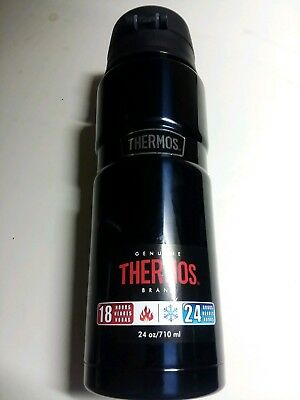 Thermos Stainless King 24 Ounce Hot or Cold Bottle/food storage Matte Black