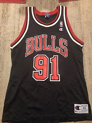 Vintage Dennis Rodman Jersey Champion Size 44 Authentic Chicago Bulls 62ba1d9a5