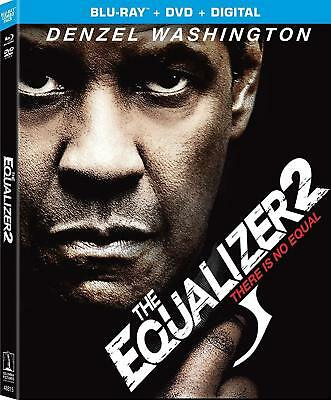 The Equalizer 2 (Blu-ray + DVD + Digital; 2018) NEW with Slipcover