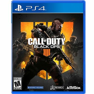 Call of Duty: Black Ops 4 - PS4 Brand new ships straight from store NO TAX