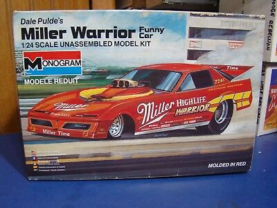 "Old Miller ""warrior"" Pontiac Firebird Funny Car Driven By Dale Pulde. Built Nice"