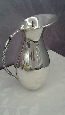 ESTATE water pitcher art deco  925  Sterling silver  scrap weight 663 g grams