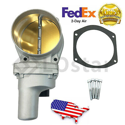 Gold 102MM Boosted Drive By Wire Electronic Throttle Body for LS2 LS3 LS6 LS7