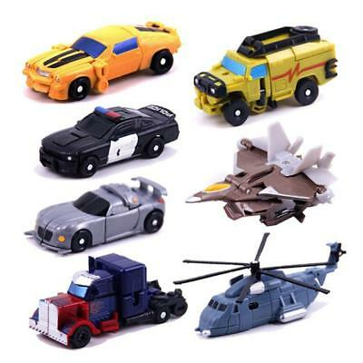 Kids Mini Pocket Car Toy Transformers Classic Childs Action Figure Toys Gift