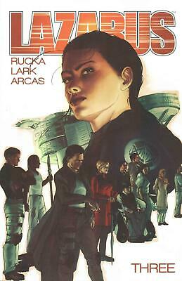 Lazarus Volume 3: Conclave by Greg Rucka (English) Paperback Book Free Shipping!