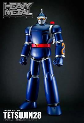 Action Toys Emissary Of The Sun HEAVYMETAL Tetsujin NO.28 Blue Action Robot TAC