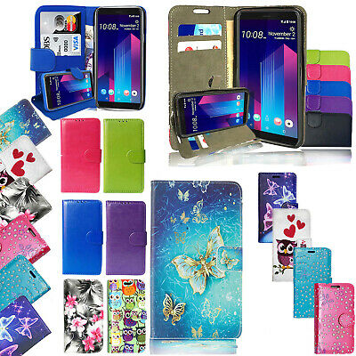 For Huawei Y7 Prime 2018 Shockproof Premium Leather Wallet Stand Flip Case Cover