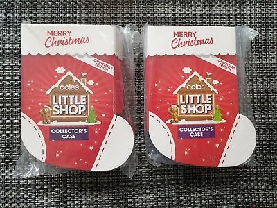 Coles Little Shop Christmas Mini Collector's Case - LIMITED EDITION
