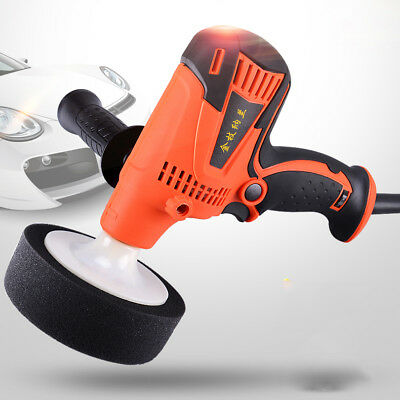 220V Variable 6-Speed Electric Polisher Buffer Waxer Car Truck Van Boat Sander