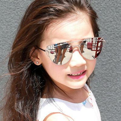 Kids Fashion Sunglasses Luxury Metal Frame Eyewear Boys Girls Summer Accessories