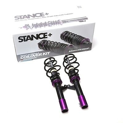 2 x Front Stance+ Street Coilovers for VW Caddy 3 2K 1.2TSi 1.4 16v 1.6 8v TDi
