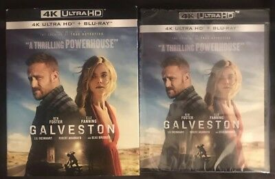 New Galveston 4K Ultra Hd Blu Ray 2 Disc Set With Slipcover Sleeve Free Shipping