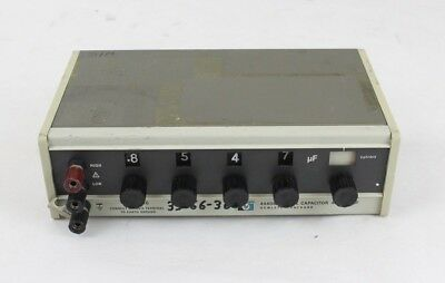 HP Hewlett Packard 4440B Decade Capacitor 40pF-1.2μF, Not Tested