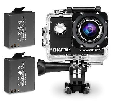 4K 1080P WIFI Action Cam Camcorder Video Camera HDMI SD USB LCD Battery Set