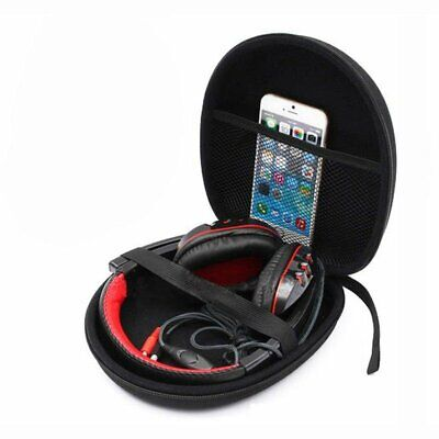 Black Carrying Hard Case Storage Bag Box For Sony Headset Earphone Headphone