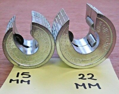 Rothenberger Pipeslice 15mm / 8.8801 & 22mm / 8.8802  Copper Pipe Cutters