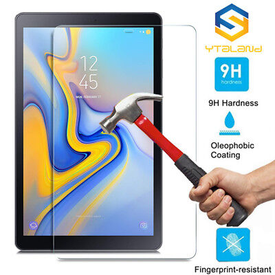 """Tempered Glass Screen Protector For Samsung Galaxy Tab A 10.5"""" (2018) T590 T595"""