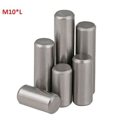 Chrome Steel Cylindrical Locating Pins Rod Solid Pin M10 10mm Dowel Pins Roller