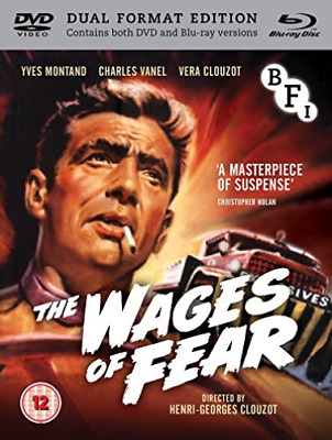 The Wages Of Fear (Limited Edition) (+ Dvd) Blu-Ray New