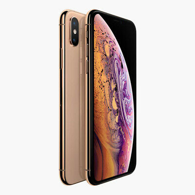Apple iPhone XS 256GB Gold (Ohne Simlock) NEU OVP MT9K2ZD/A EU